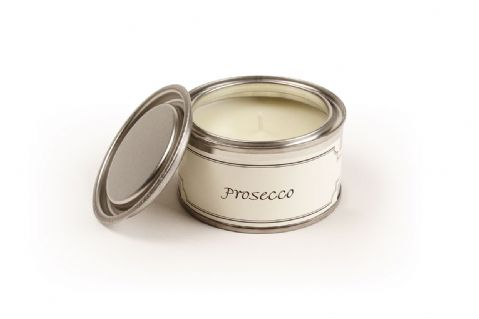 EX DISPLAY PAINT POT PROSECCO CANDLE